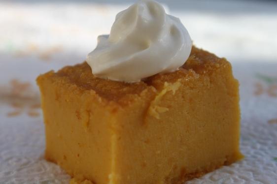 pumpkin mascarpone cake bites
