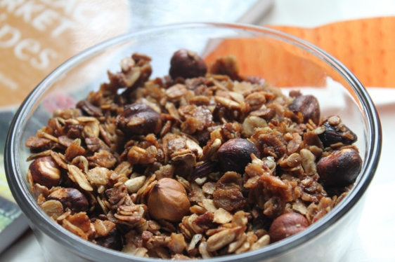 honey hazelnut granola