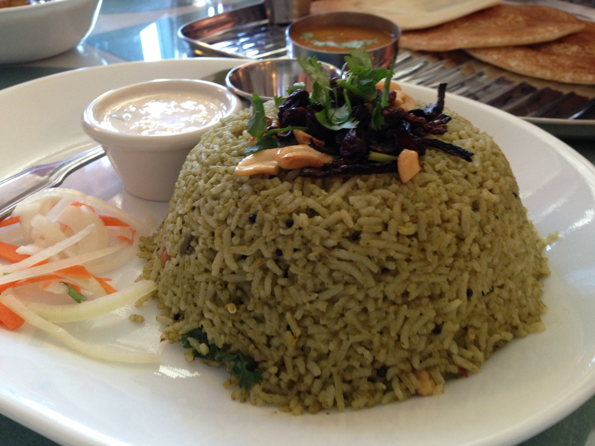 aahar mint rice