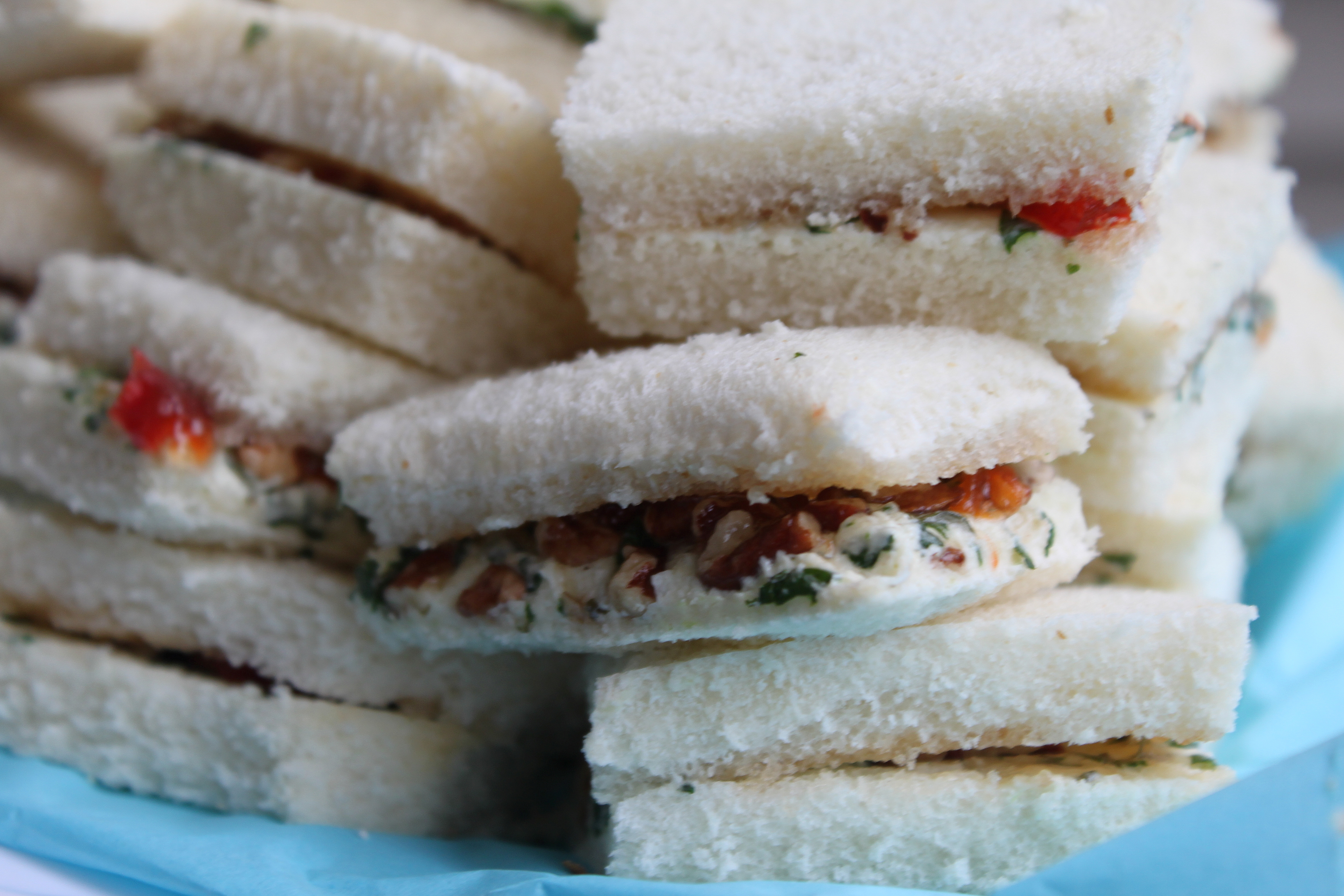 Easy Baby Shower Tea Party Sandwiches