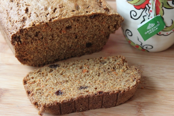 cardamom carrot bread