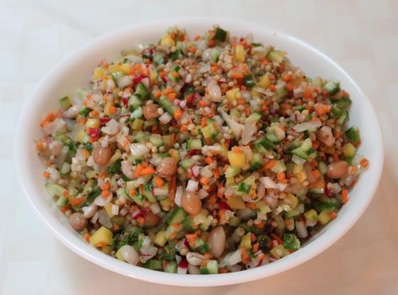 sorghum salad